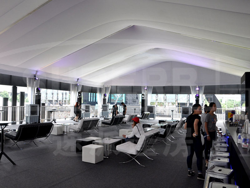 Exhibition Double Decker Tents