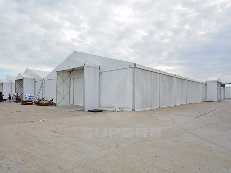 10000 sqm warehouse tent